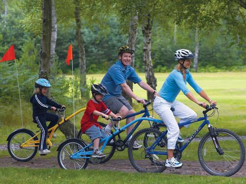 """""""大带小""""的儿童自行车"""