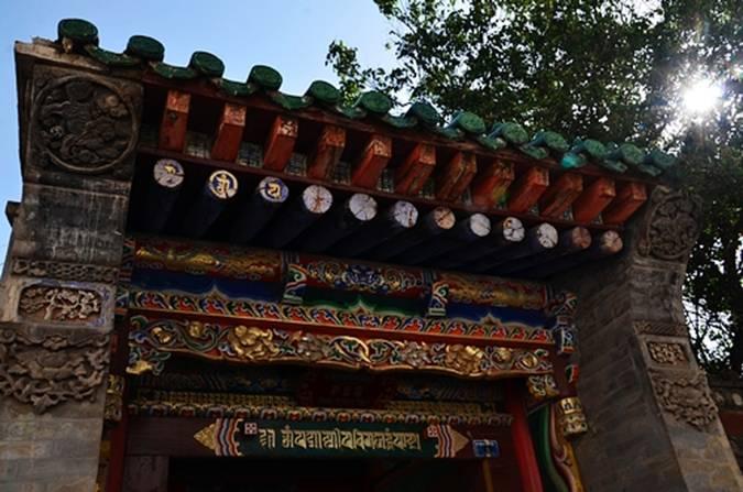 藏式天花花纹素材